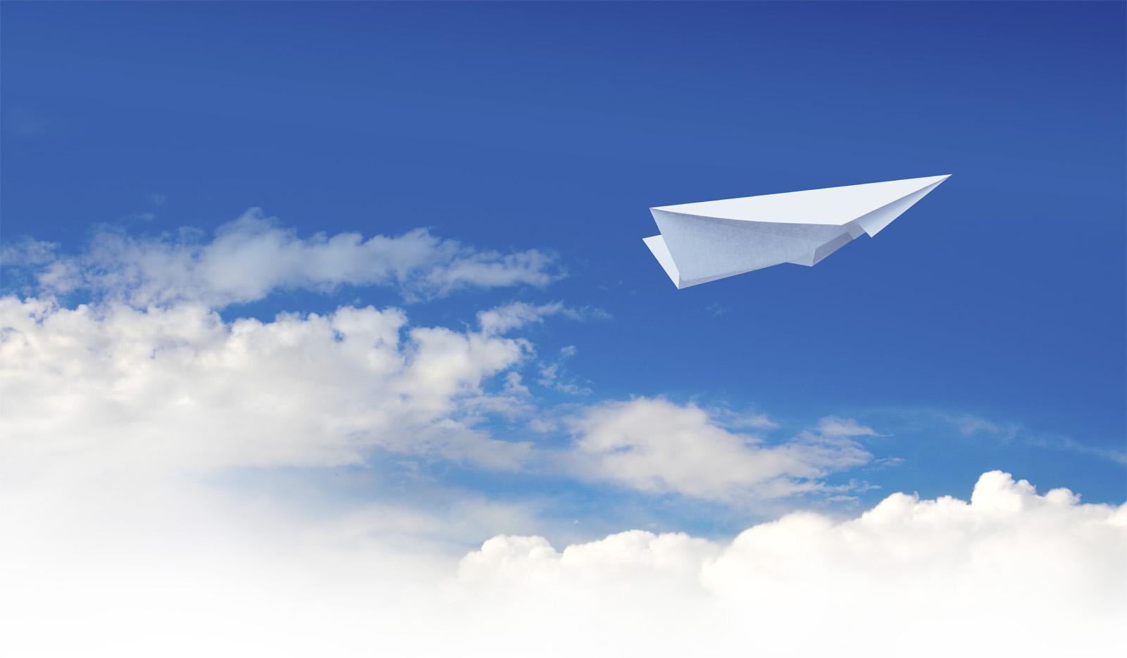 Paper plane Change